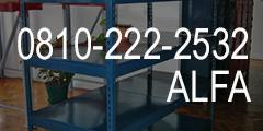Por cualquier consulta con Alfa Racks comunicarse al 0810-999-ALFA
