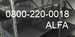 Por cualquier consulta con Alfa Racks comunicarse al 0800-220-0018