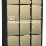 Bolsero de 12 puertas ampliadas con cerradura - Ilustrativa