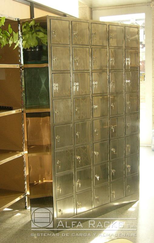Lockers alfa racks - Puertas metalicas valentin ...