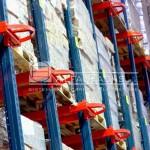 Detalle vista de cargas racks penetrables
