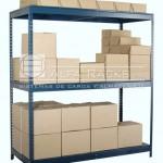 El rack americano permite carga variada