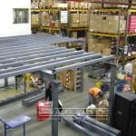 Entrepiso Alfa Racks SA en montaje