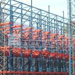 Rack penetrable: instalación de 15.000 posiciones de racks