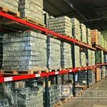 Paletización de mercadería