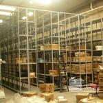 Proceso de organización de depósito