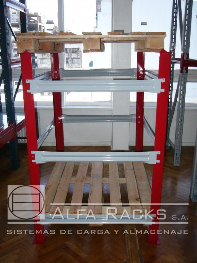 Racks autoestibables Alfa Racks SA