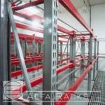 Vista lateral de calidad Alfa Racks