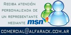 Reciba atención personalizada de un representante mediante MSN - comercial@alfarack.com.ar