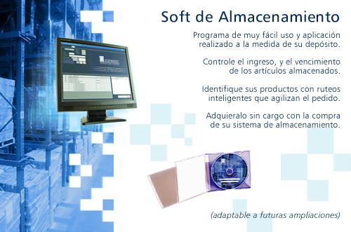 programa de ubicación de productos adaptable a futuras ampliaciones
