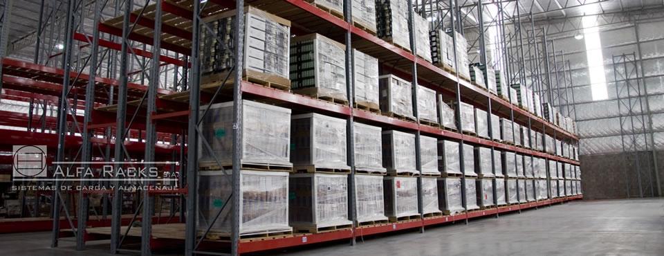 Racks selectivos, diseñados especialmente para depósitos con gran variedad de artículos estibados